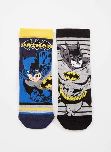DeFacto 2'li Çorap Renkli